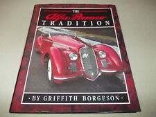ALFA ROMEO TRADITION, BORGESON, NEW 1990 AUTOMOBILE QUARTERLY CAR BOOK , Offer