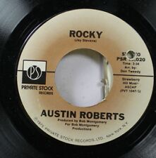 Pop 45 Austin Roberts - Rocky / You Got The Power On Private Stock Records