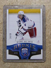 09-10 UD BAP Be A Player RC Rookie #223 MICHAEL DEL ZOTTO /99