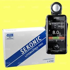 Sekonic LITEMASTER PRO L-478D Digital Light Meter Flash Master L478D