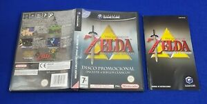 gamecube ZELDA Collectors Edition Legend Of SPANISH BOX & MANUAL ONLY *NO GAME*