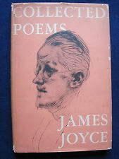 COLLECTED POEMS by JAMES JOYCE - First American Edition in Jacket