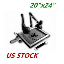 USA UV Exposure Unit Screen Printing Plate Making Silk Screening DIY 20