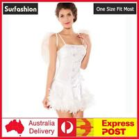 Sexy Angel Naughty Fancy Dress Party Costume One Size Fit #8186