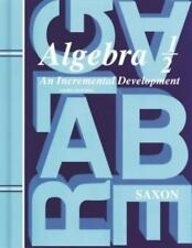 Saxon Algebra 1/2, 3rd Edition: Algebra 1-2 by John Saxon Isbn  1565771494