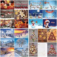 """100-er Weihnachtskarten-Set """"WEIHNACHTEN"""" in praktischer Box"""