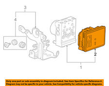 GM OEM ABS Anti-Lock Brake System-Control Module 23154722