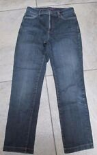 NYDJ NOT YOUR DAUGHTERS JEANS SZ 4 x 26.75 BLUE ANKLE STYLE 76650M VERY NICE