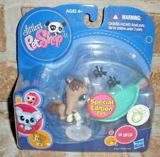 Littlest Pet Shop SPECIAL Edition Brown Gray ANTEATER 1518 HTF 2009 black ants