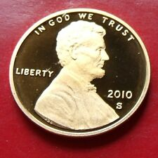 PROOF Frosted Lincoln USA 2010 Proof Penny High Grade with HOLDER