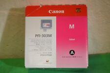Canon PFI-303M PFI-303 Genuine Original Magenta  Date 2011 330ml iPF810 iPF820