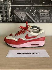 Nike Air Max 1 Vintage VNTG Hyper Red 41 Uk 7 Us 8 OG