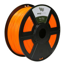 Orange PLA 1.75mm WYZworks 3D Printer Premium Filament 1kg/2.2lb