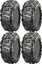 Four 4 CST Abuzz ATV Tires Set 2 Front 26x9-14 & 2 Rear 26x11-14 CU01