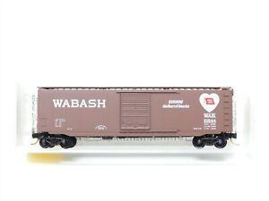 N Scale Micro-Trains MTL 31150 WAB Wabash 50' Standard Boxcar #21544
