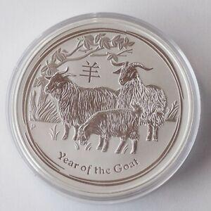 Australien   Lunar II Ziege 10 oz Münze Silber