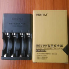 KENTLI 4 slots  battery charger for KENTLI 1.5v AA AAA  CH4-57AU