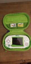 LeapFrog Leapster Explorer Learning System w/ Stylus, 2 Games, Case White/Green