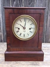 Antique American 8 day Chauncey Jerome Fusee Shelf Clock