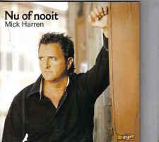 Mick Harren-Nu Of Nooit cd single
