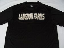 Langdon Farms - Badger Sports - Lighweight Polyester - Large Size T Shirt!