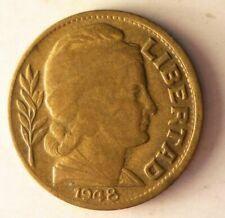 1948 Argentina 10 CENTAVOS - Excellent Coin Argentina Bin