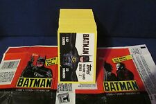 1989 Batman The Movie Series 2 Base Set, 132 cards &  Wrapper TOPPS   DC COMICS