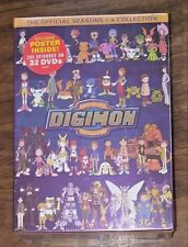 Digimon: Digital Monsters - The Official Seasons 1-4 Collection (2013, 32-Discs)