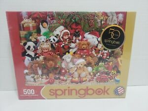 Springbok 500 Piece Jigsaw Puzzle Holiday Playtime 34-01489 NEW SEALED 50 years