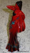Royal Doulton Flambe Eastern Grace Red Figurine HN3683 - LIMITED ED COLLECTIBLE!
