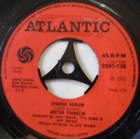 "ARETHA FRANKLIN - Spanish Harlem ~ 7"" Single"