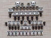70 Teile Unterfahrschutz Unterboden Motor Schrauben Clips für Audi BMW Skoda VW
