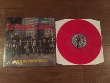 Fat Wreck Chords Mild In The Streets Red Color Vinyl NOFX Matt Skiba Against Me