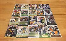 TONY BENNETT LOT OF 20 FOOTBALL CARDS GREEN BAY PACKERS INDIANAPOLIS COLTS LB