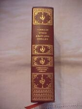 INTERNATIONAL COLLECTORS LIBRARY, POEMS OF BYRON KEATS AND SHELLEY, Brown Cover