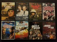 MGM 8 War Movie DVD Lot: Run Silent Deep Beach Red Hell Pacific Devil's Brigade