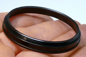 46mm to 46mm Filter ring screw in threaded (metal ring only) step-up
