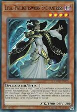 YU-GI-OH CARD: LYLA, TWILIGHTSWORN ENCHANTRESS - SUPER RARE - COTD-EN025