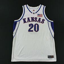Game Worn Kansas Jayhawks Nike 48 +2 Stephen Vinson Jersey