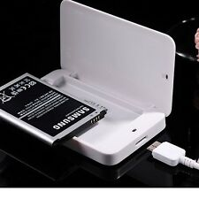 100%  OEM Cradle Dock Charger + 2600mAh Battery For Samsung Galaxy S4