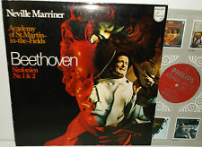 6500 113 Beethoven Symphonies 1 & 2 ASMF Neville Marriner