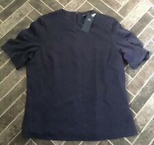 BNWT Size 18 Navy Blue Top / T-Shirt - 3/4 Sleeves - MARKS AND SPENCER. Workwear