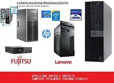 PC COMPUTER FISSO USATO ECONOMICO RICONDIZIONATO GARANTITO CPU CORE I5 RAM E HDD
