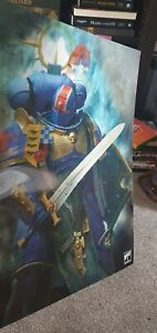 2021 Warhammer 40K Store Anniversary Stormcast Primaris Lenticular Poster