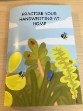 Home schooling, home learning, handwriting practice book