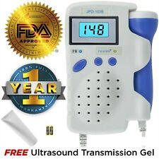 Angelsounds Fetal Doppler, Baby Heart Monitor, Backlight LCD, JPD100B