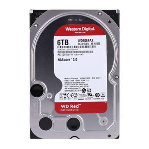 WD Red WD60EFAX interne Festplatte 6TB