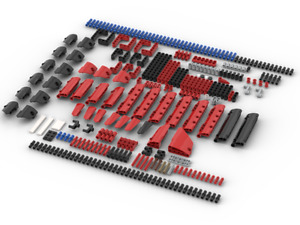 290+ New Genuine Lego Technic Studless beam liftarm panel connector pin