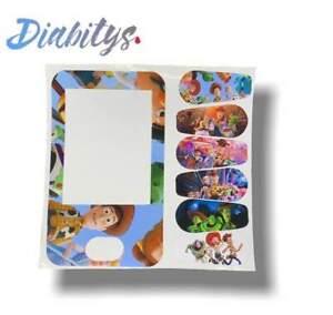 Dexcom G6 Receiver & Six Transmitter Stickers - Toy Story