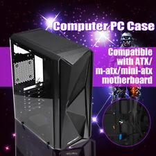 USB 3.0 Tempered Glass Gaming Computer PC Case ATX MATX mini-ITX ATX HD Audio